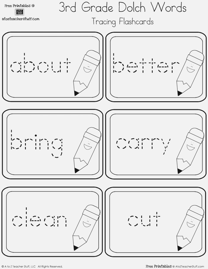 9 Best Of Dolch Words Worksheets Dolch Sight
