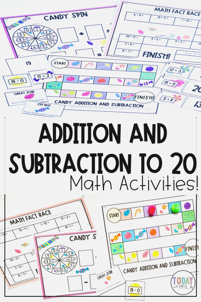 Addition and Subtraction Facts to 20