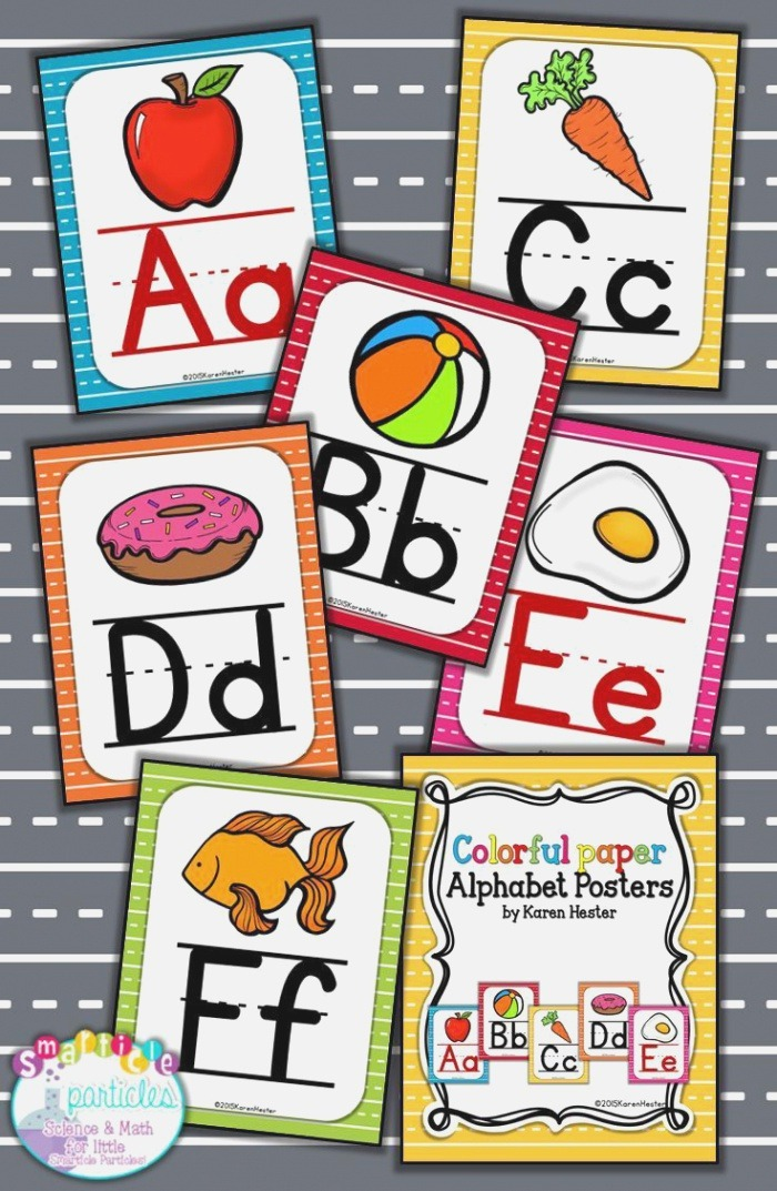 Alphabet Posters Colorful