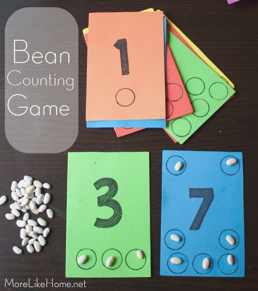 Bean Counting Busy Bag