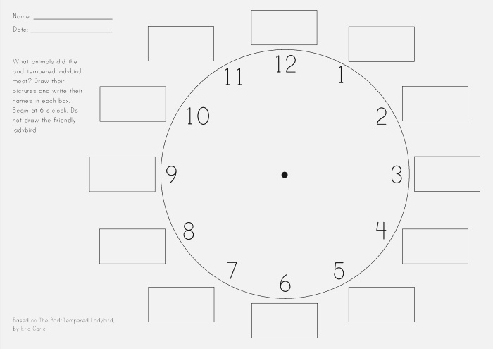 Clock Face Template Png Google Search