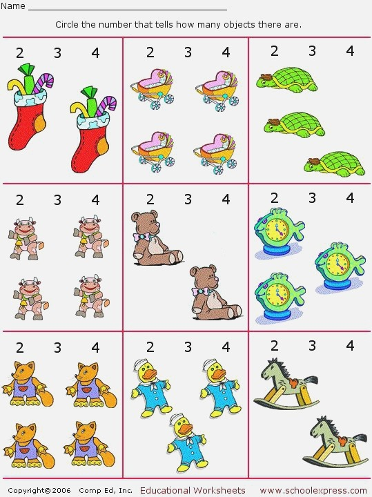 for L Count and Circle Numbers Set 10 8 Free