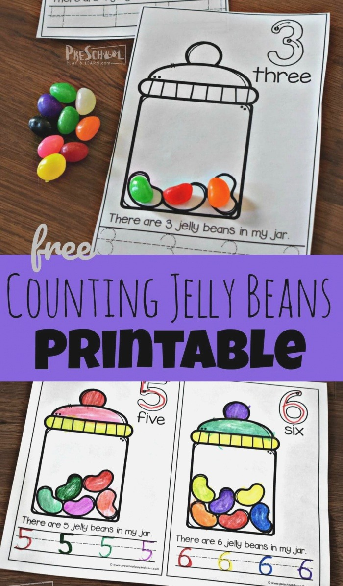Free Counting Jelly Beans Early Reader these Free