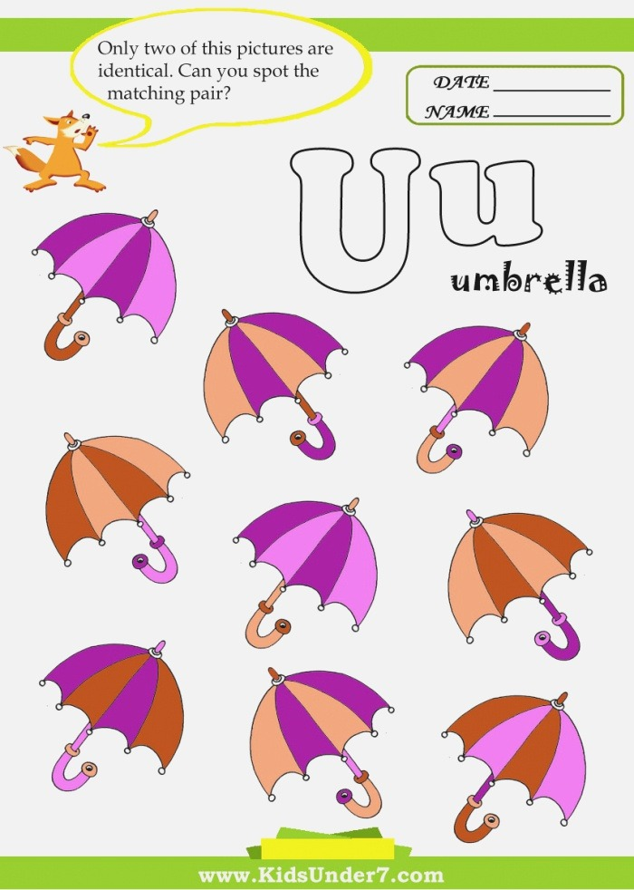 Fresh Things that Start with the Letter U