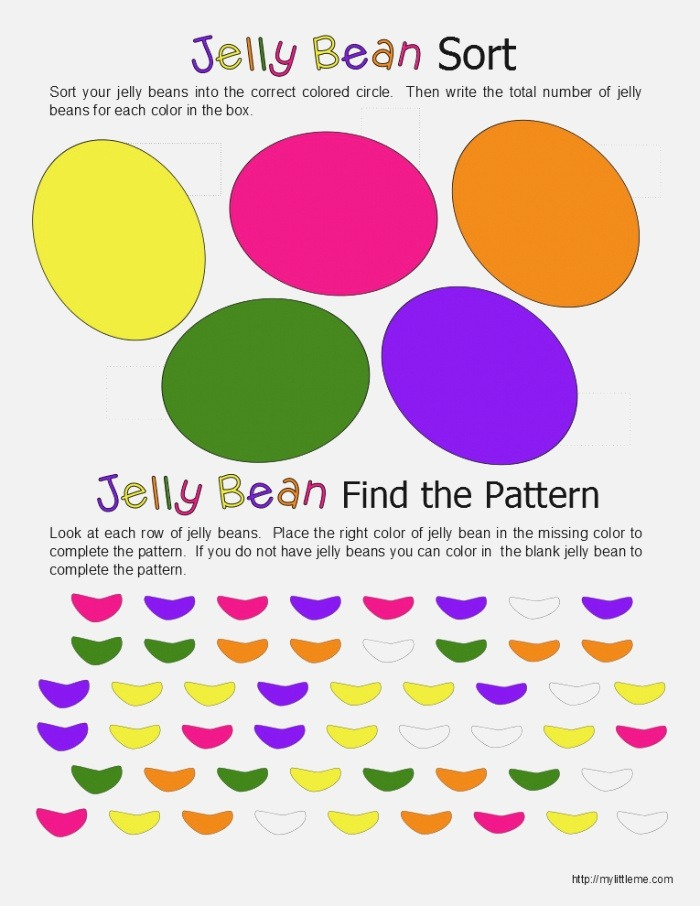 Jelly Bean Printables Jelly Bean Game My Little Me