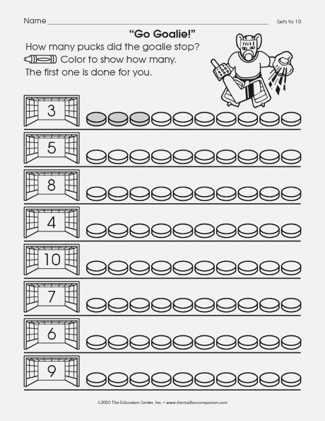Math Worksheet Number Sets to 10 the Mailbox In 2020