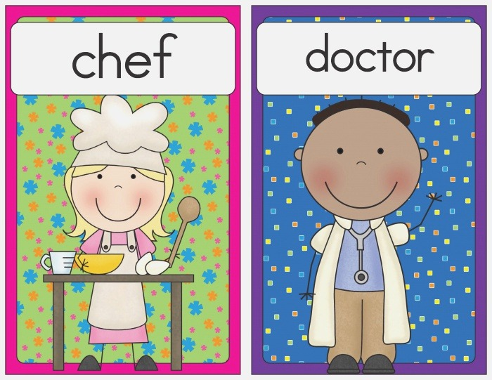 Munity Helpers Flash Cards Little Learning Lovies
