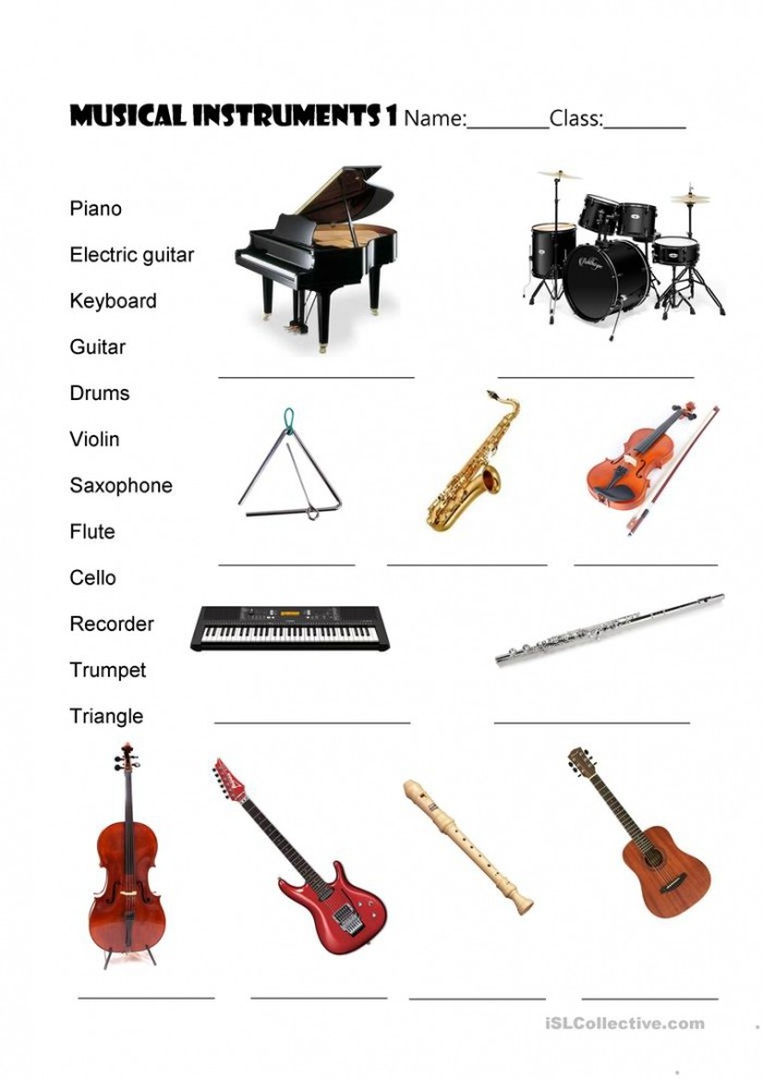 Musical Instruments With Key