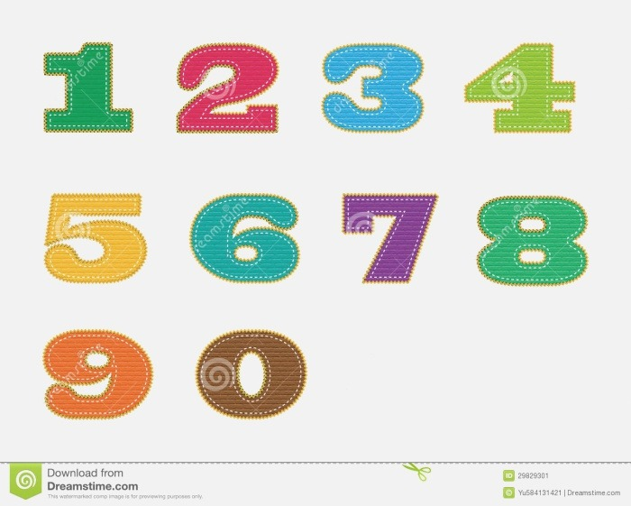 Number Stock Image Image