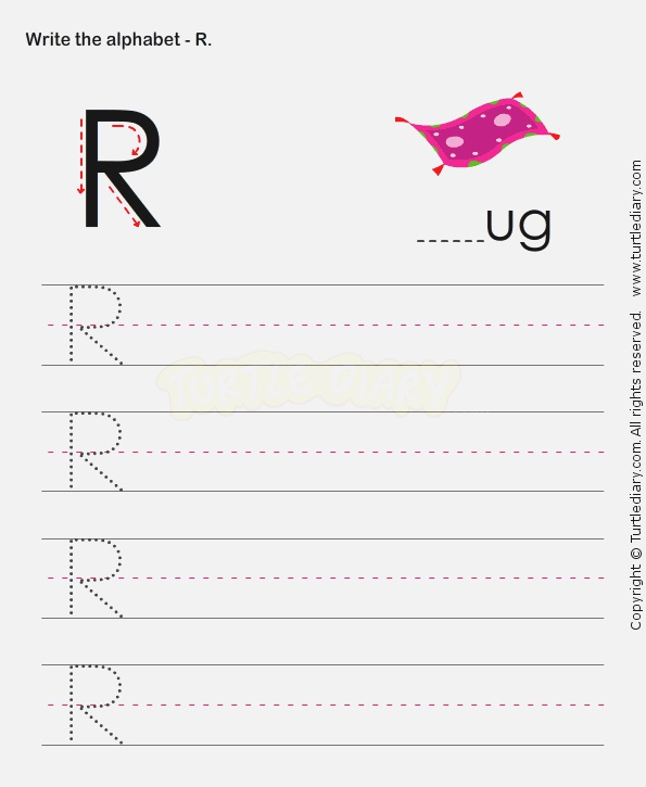 Pin by Turtle Diary On Alphabet Worksheets