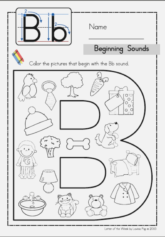 Pin On Letter B Activities