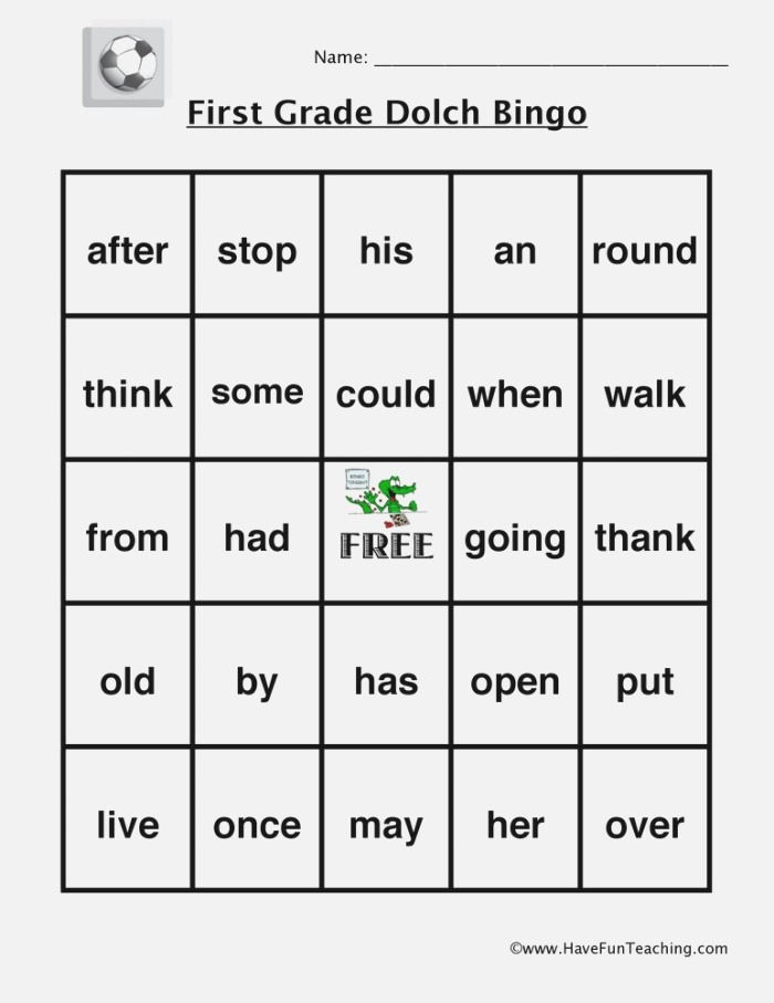 Sight Words Worksheets Have Fun Teaching
