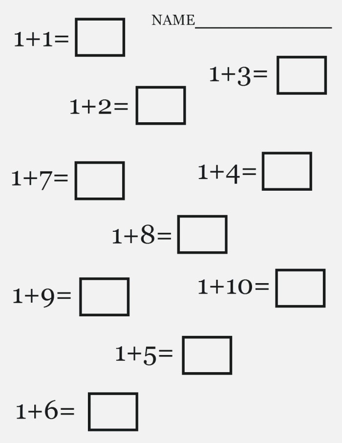 Simple Addition Worksheets for Free Download Simple