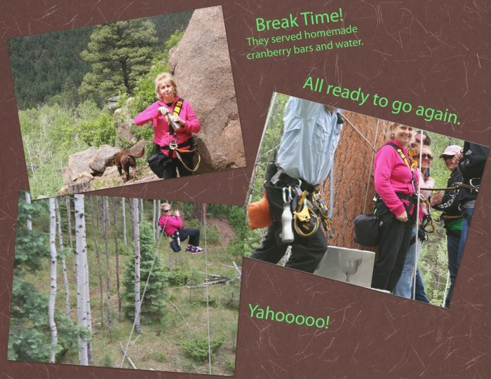 Smiles for Many Miles Durango Day 2 Zip Lining with
