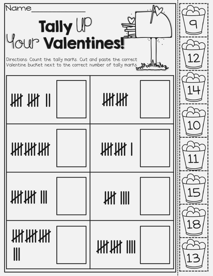Tally Mark Worksheets to Print