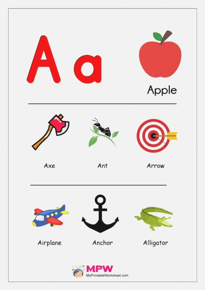 Things that Start with A B C to X Y Z Alphabets