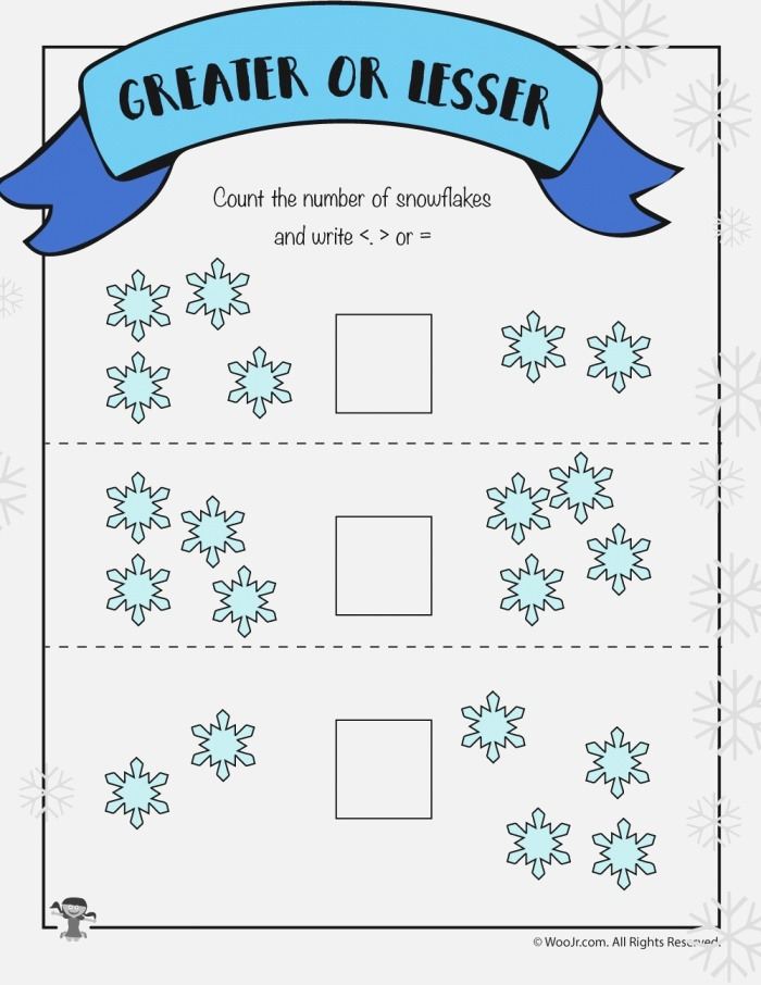 Visual Easy Greater Than Less Than Worksheet