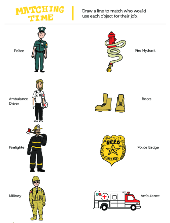 Community Helpers Their Roles And Tools