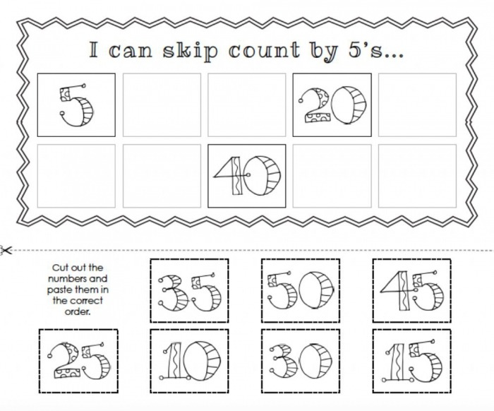 Counting By S Worksheet