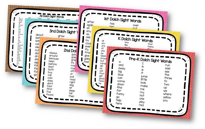 High Frequency Word List 3rd Grade Worksheets