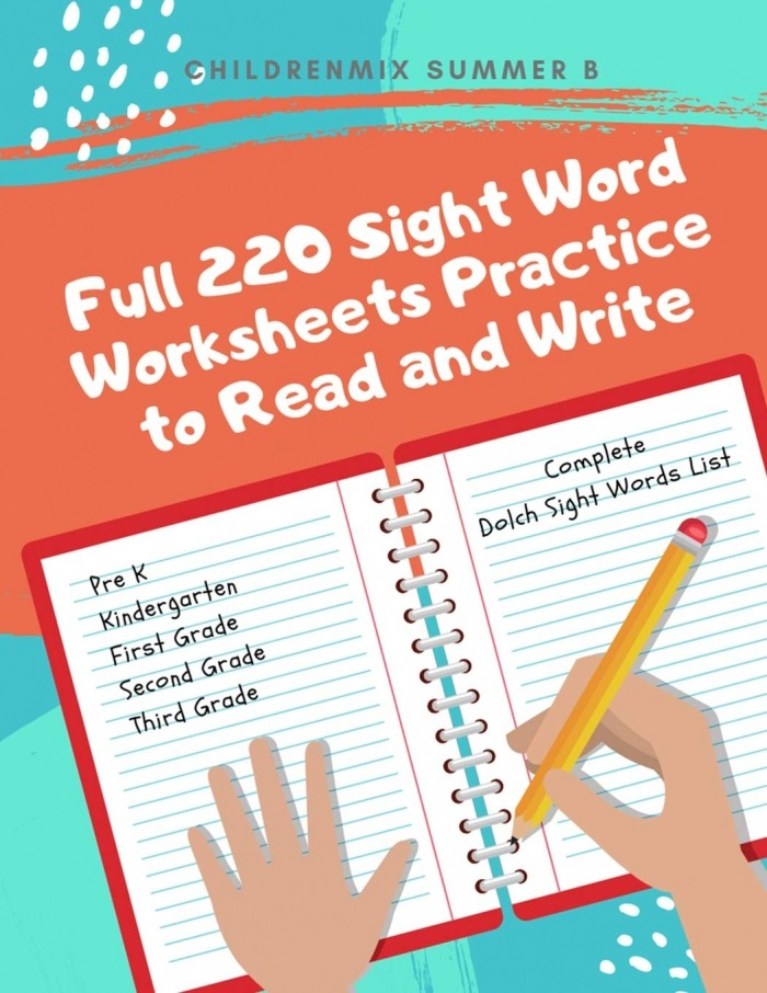 Full  Sight Word Worksheets Practice To Read And Write