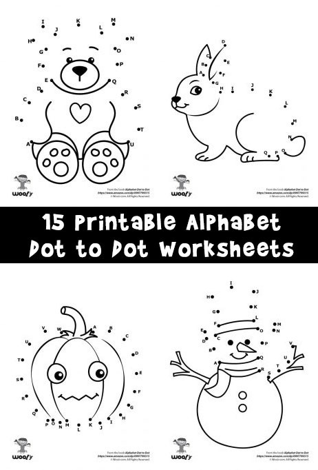 Z With Dot Worksheets