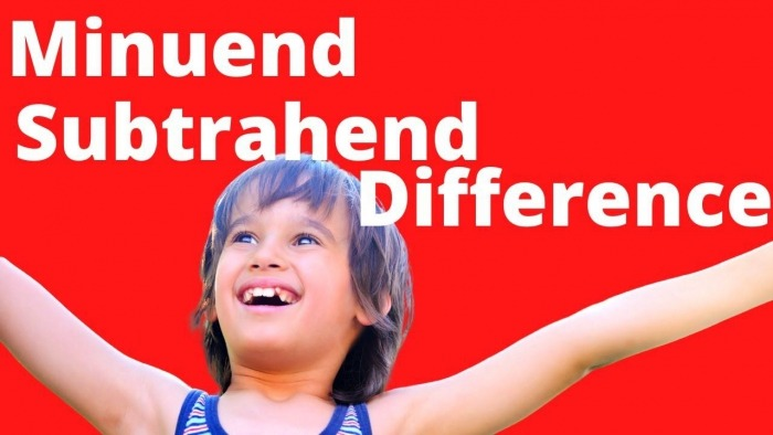 Minuend Subtrahend Difference Worksheets