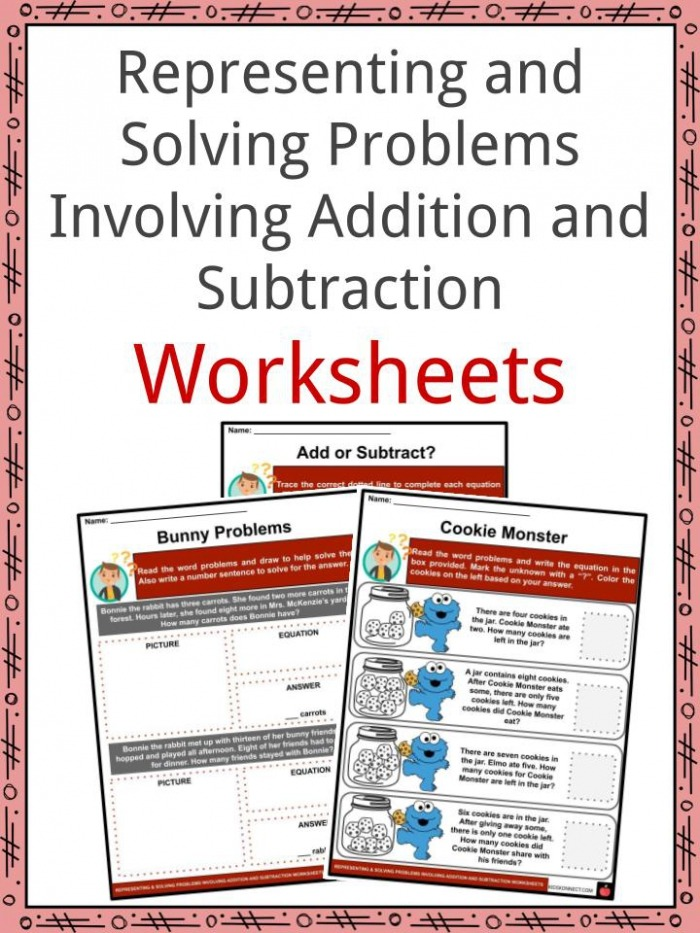 Representing And Solving Problems Involving Addition And