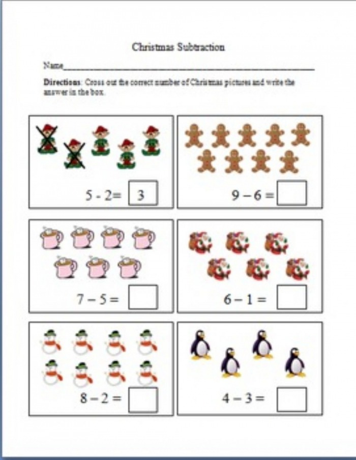 Subtraction By Crossing Out Interactive Worksheet